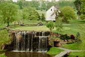 'Waterfall Hole at Meadow Farms, Fredericksburg, Virginia'