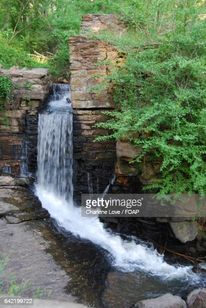 Waterfall in chattahoochee river