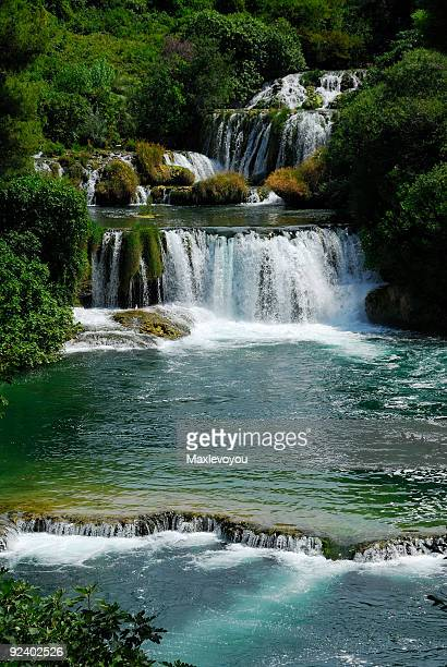 Waterfall in Krka National Park