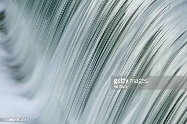 Waterfall, Kyoto, Honshu, Japan, close-up