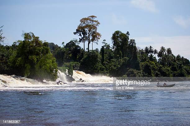 Waterfall near Kribi, Cameroon, Africa