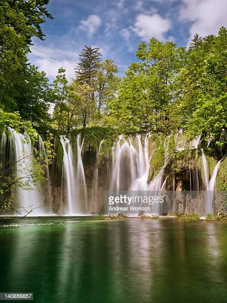 Waterfall paradise Plitvice