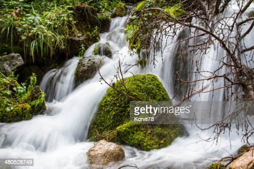 Wasserfall : Stock-Foto