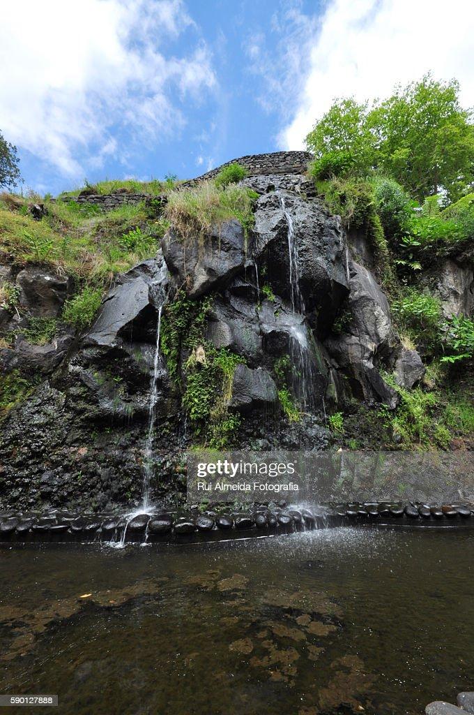 Waterfall São Miguel, Azores