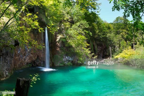 Wasserfälle im Nationalpark Plitvicer Seen (Kroatien)
