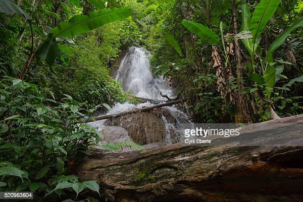100 waterfalls Nong Khiaw