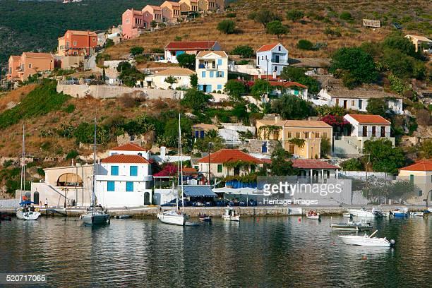 Waterfront Assos Kefalonia Greece