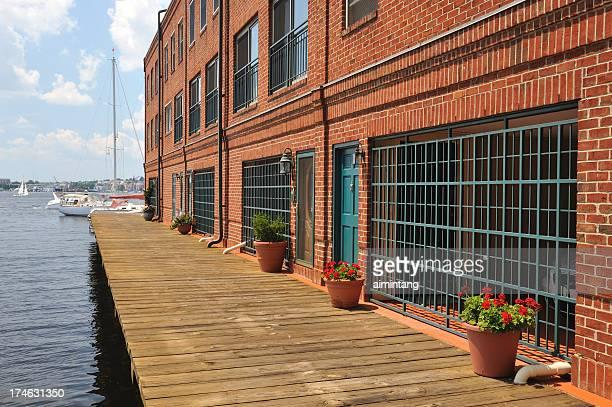 Waterfront Brick House