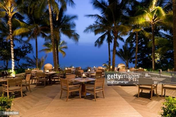 waterfront hotel restaurant outdoors phuket thailand