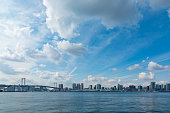 Shooting the waterfront landscape that you want from Toyosu coast