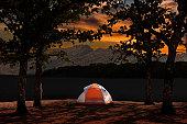 Waterfront Tent Campsite