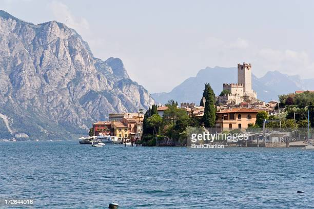A waterfront view of Lake Garda