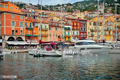 Waterfront Villefranche : Foto stock