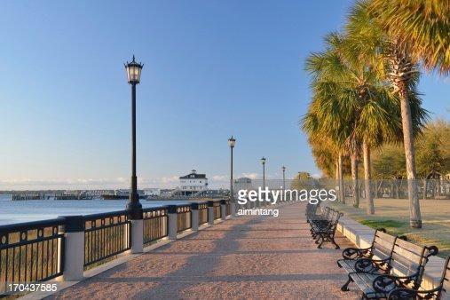 Waterfront Walk in Charleston