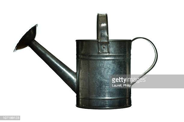 Watering can against white background