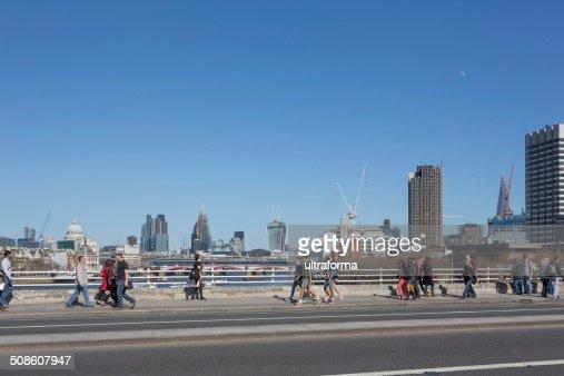 Waterloo Bridge : Stock Photo
