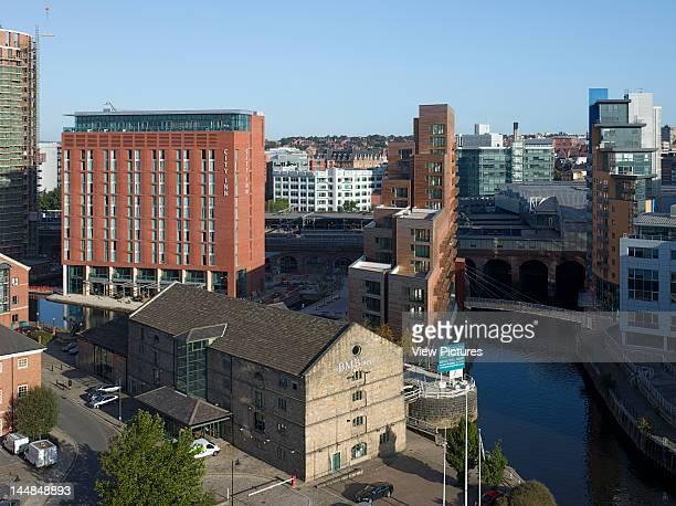 Waterman'S Place Granary Wharf Leeds West Yorkshire United Kingdom Architect Czwg WatermanS Place Granary Wharf Leeds Czwg General Aerial View With...