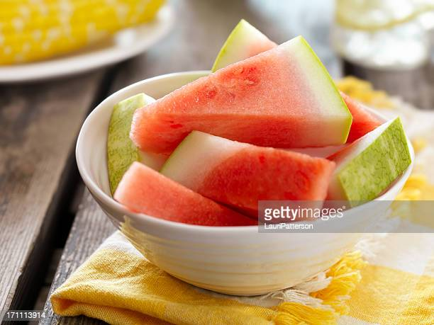 Watermelon at a Picnic