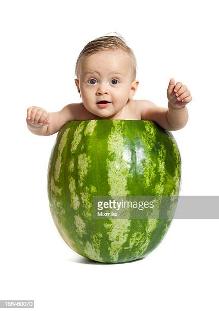 Watermelon baby girl
