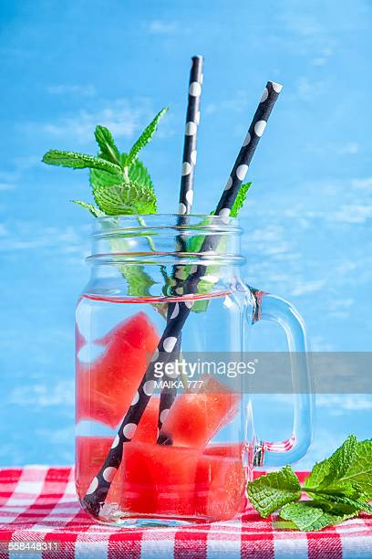 Watermelon detox or infused water