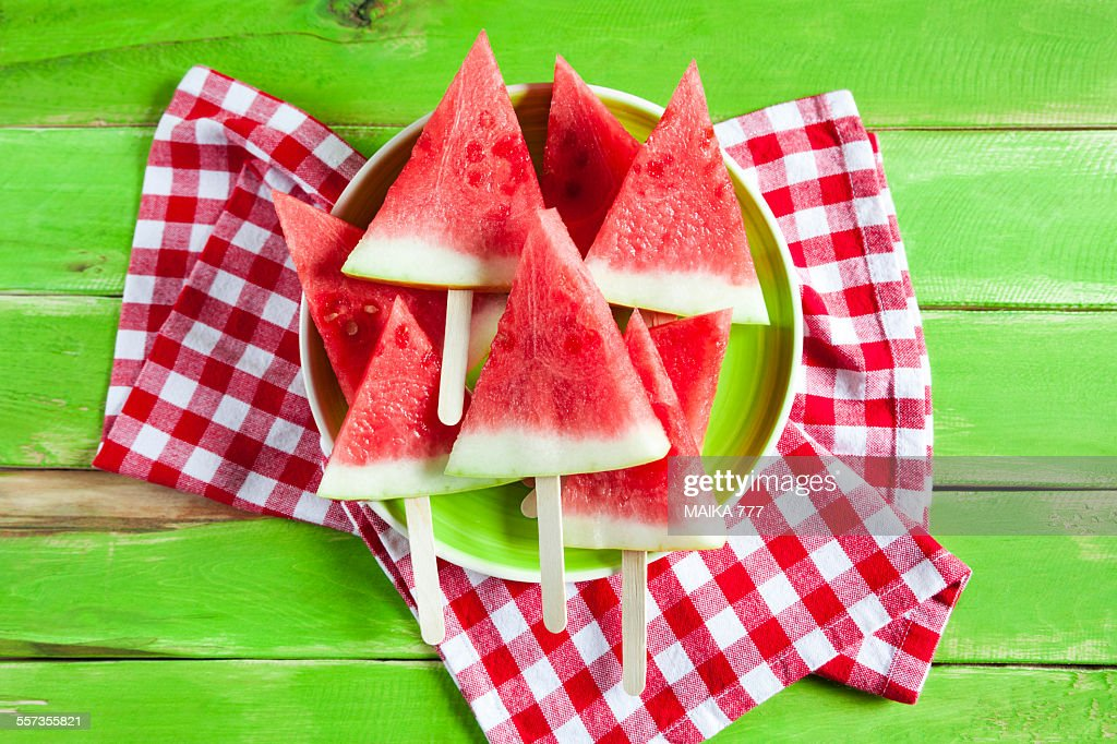 Cool off with these healthy watermelon slices that will satisfy your sweet tooth!
