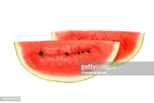 Fatia de melancia : Foto de stock