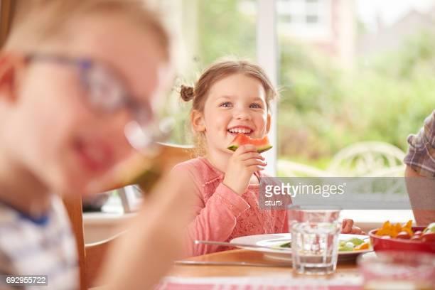 Wassermelone-Lächeln