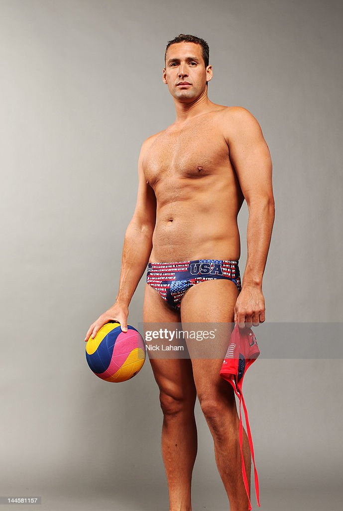 Waterpolo player, <a gi-track='captionPersonalityLinkClicked' href=/galleries/search?phrase=Merrill+Moses&family=editorial&specificpeople=1025270 ng-click='$event.stopPropagation()'>Merrill Moses</a>, poses for a portrait during the 2012 Team USA Media Summit on May 15, 2012 in Dallas, Texas.