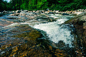 Photo of water in White Mountain National Park New Hampshire.