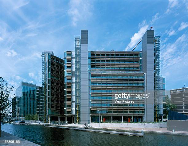 Waterside London United Kingdom Architect Richard Rogers Partnership Waterside View With Basin