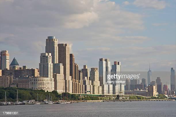 Waterside residential luxury towers