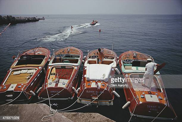 Waterskiing from the Hotel Du CapEdenRoc in Cap d'Antibes France 1969