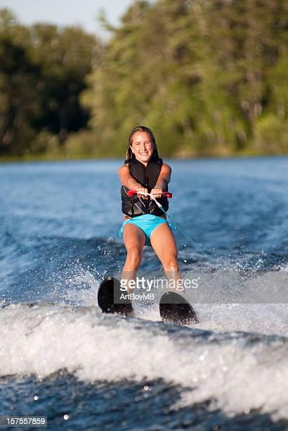 Waterskiing Girl