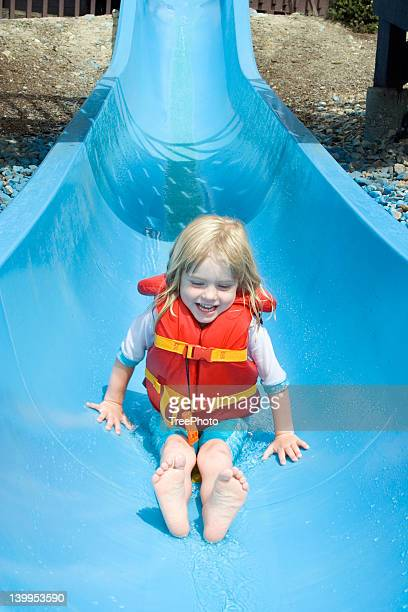 Waterslide fun #3