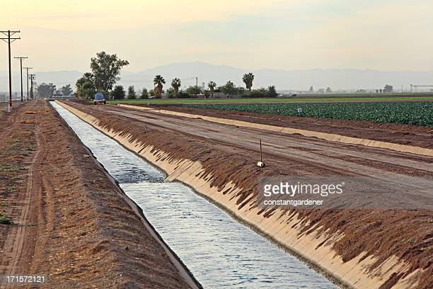 Water,Vital Importance For Crops In California.