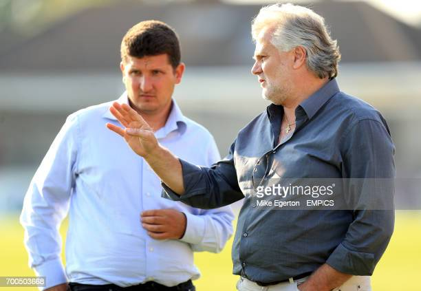 Watford Chief Scout Filippo Giraldi and Technical Director Gianluca Nani