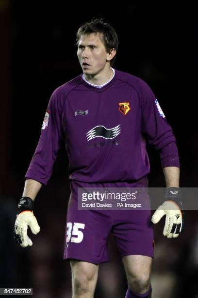 Watford goalkeeper Tomasz Kuszczak