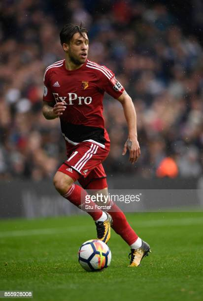 Watford player Kiko Femenia in action during the Premier League match between West Bromwich Albion and Watford at The Hawthorns on September 30 2017...