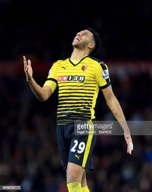 Watford's Etienne Capoue rues a missed chance