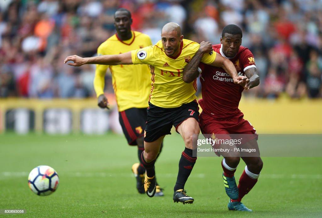 Watford v Liverpool - Premier League - Vicarage Road : News Photo