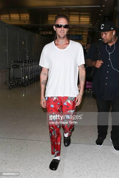Watkin Tudor Jones is seen at LAX seen at LAX on June 20 2017 in Los Angeles California