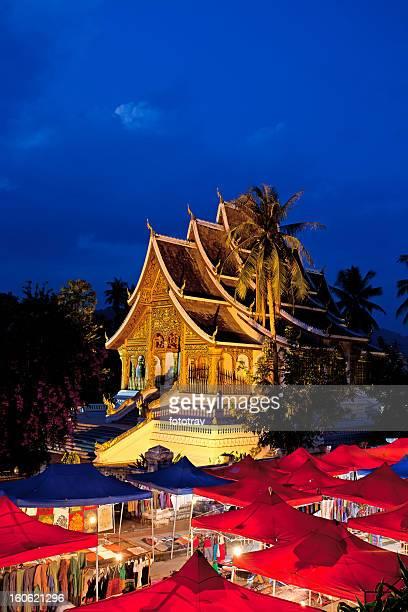Watmai Suwannaphumaham à Luang Prabang, du Laos