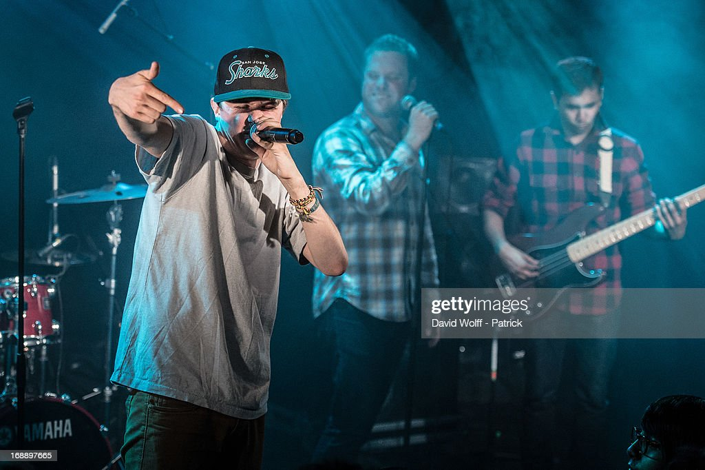 Watsky performs at La Maroquinerie on May 16, 2013 in Paris, France.
