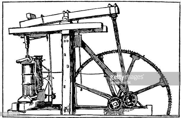 Watt James *3001173625081819Erfinder GBVerbesserte entscheidend die Dampfmaschine erste Dampfmaschine undatiert