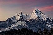 Snow, Winter, Bavaria, Berchtesgaden, Berchtesgadener Land