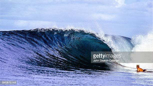 Wave in the Mentawai Islands