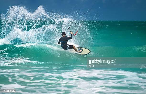 Kite Surfing Wave