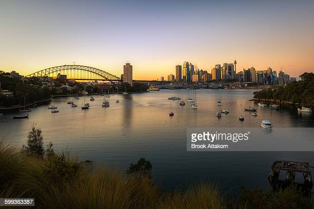 Waverton sunrise, Sydney, Australia