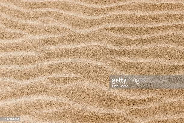 Vagues sur les dunes de sable