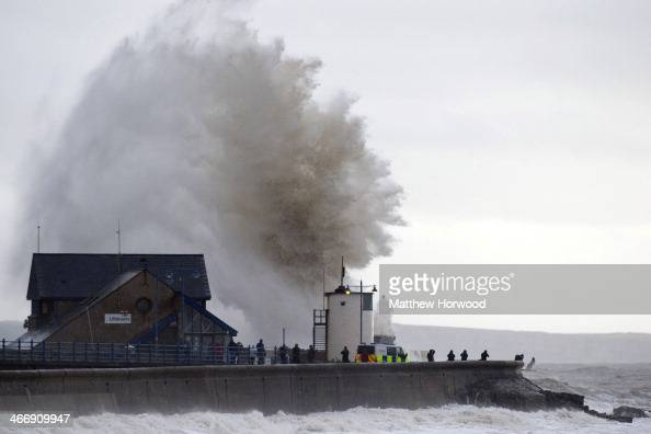 Porthcawl United Kingdom  city photo : ... in Porthcawl United Kingdom High tides combined with gale force